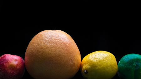 tropical fruit on a dark background Stock Photo - 21451337