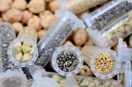 cereal in tube Stock Photo