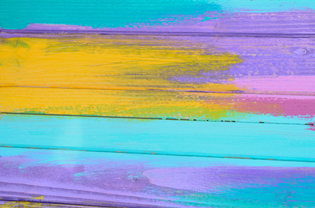 color paint background on wooden Stock Photo