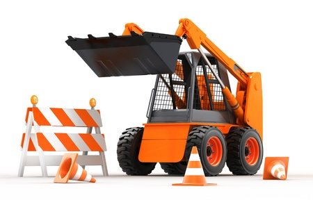 skid loader: Under Construction
