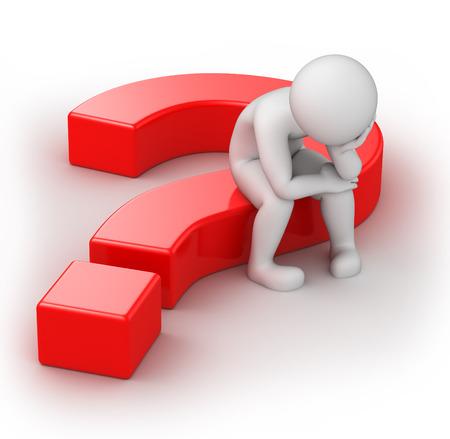 weinig 3d mens en een vraag