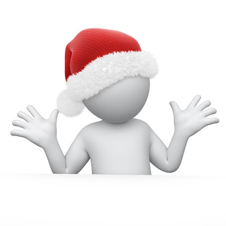 work path: Humorous Santa , image with a work path