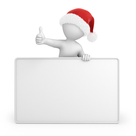 work path: Santa with a thumb up, image with a work path