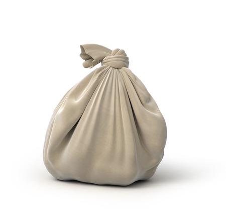 sack cloth: gray sack