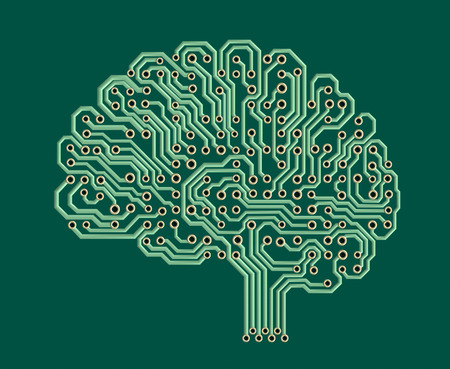 circuito electrico: Cerebro electrónico