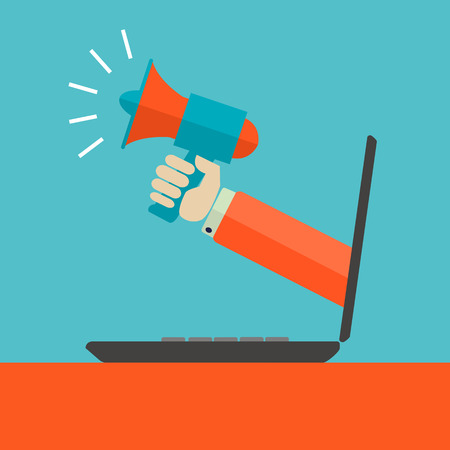 Digital marketing advertisment vector concept