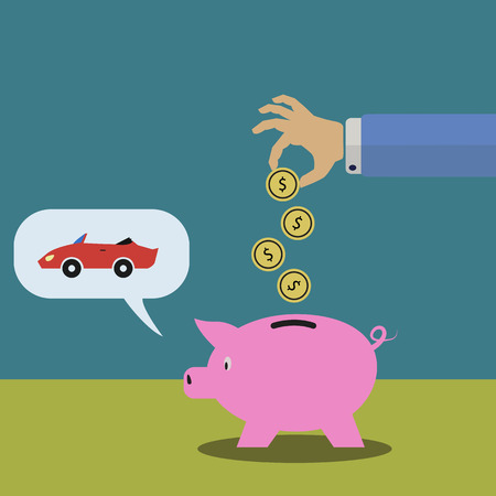 Saving money for buying a car