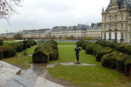 Tuileries`s garden. Paris. France.