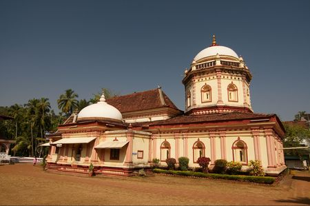 Shri Nageshi temple is one of the interesting temples in Goa. photo