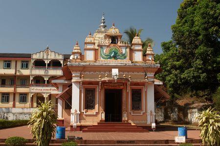 Gahesha residence temple near Ponda, Goa.