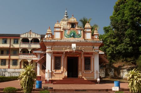 ancient yoga: Gahesha residence temple near Ponda, Goa.