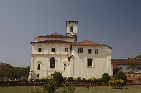 st  francis: Museum of St Francis of Assisi. Old Goa, India.