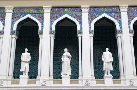 azeri: Museum of Azeri Literature named after Nizami. Baku, Azerbaijan.