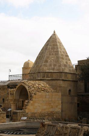 baku: Shirvanshah kervansaray in Baku, Azerbaijan.