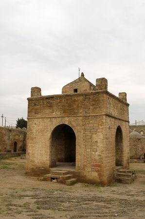 ufortyfikować: W Atashgah muzeum, zamek podobne byłego hinduskie pożaru świątyni w pobliżu Baku, Azerbejdżan.