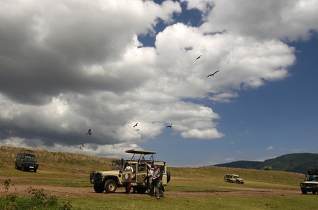 Lunchplace in Ngorongoro Conservation Area photo