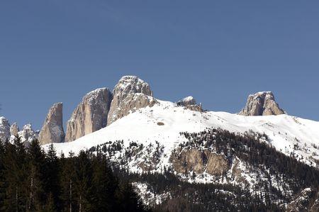 mounts: Sella Mountains, famous mounts in Italian Dolomiti