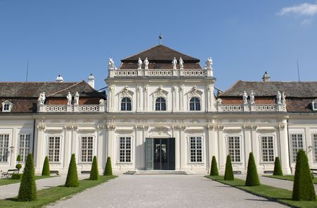 The Belvedere is a baroque palace complex built by Prince Eugene of Savoy