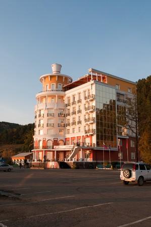 New modern hotel Listvyanka - urban-type settlement on Lake Baikal