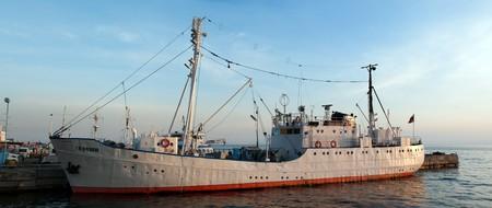 Scientific ship