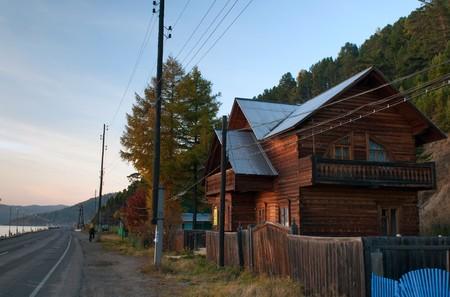 Listvyanka - urban-type settlement on Lake Baikal