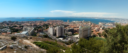 Panorama of Marseille. France. photo