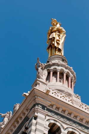 garde: Basilica Notre-Dame de la Garde, Marseille, France