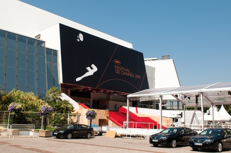 CANNES, FRANCE - MAY 23, 2011: Palais des Festivals at the next day after closing ceremony 64th Cannes Film Festival on May 23, 2011 in Cannes, France