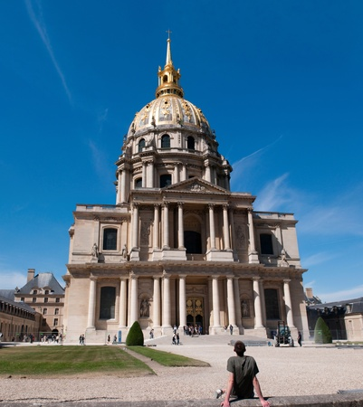 PARIS, FRANCE - MAY 28, 2011: Chapel of Saint-Louis-des-Invalides, Paris, built 1679 on May 28, 2011, France. Stock Photo - 9707764