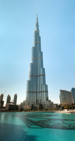 tallest: Burj Khalifa - the world s tallest tower at Downtown Burj Dubai, United Arab Emirates