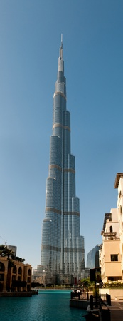 Burj Khalifa - the world s tallest tower at Downtown Burj Dubai, United Arab Emirates  Stock Photo - 12818335
