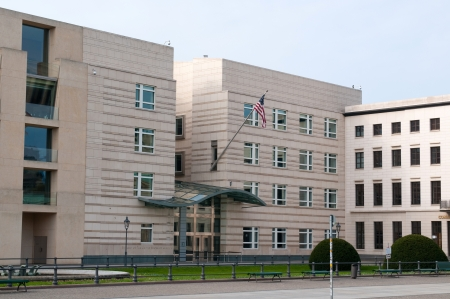 Embassy of United States of America in Berlin, Germany Stock Photo - 14040509