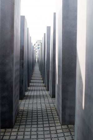 murdered: Memorial to the murdered Jews of Europe in Berlin. Germany