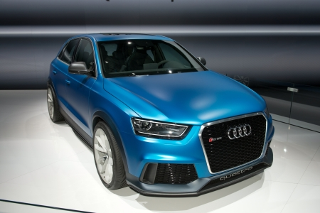 MOSCOW, RUSSIA - August 31: Moscow International Automobile Salon 2012. Audi RS Q3 Concept