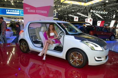 Moscow Russia August 31 Moscow International Automobile Salon