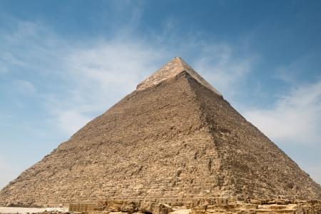 Pyramid of Khafre in Great pyramids omplex in Giza Фото со стока - 20731285