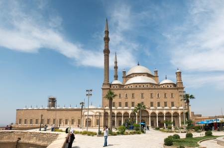 CAIRO - May 8: The Saladin Citadel - the Mosque of Muhammad Ali (Alabaster Mosque) on May 8, 2013, Egypt.