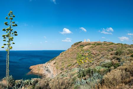 seaway: View on Aegean sea in Greece