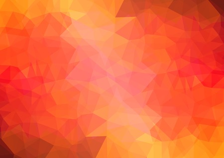 diamond shaped: multi-color red geometric rumpled triangular low poly style gradient illustration graphic background.