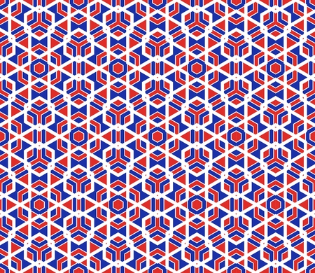 Vector modern seamless colorful geometry pattern