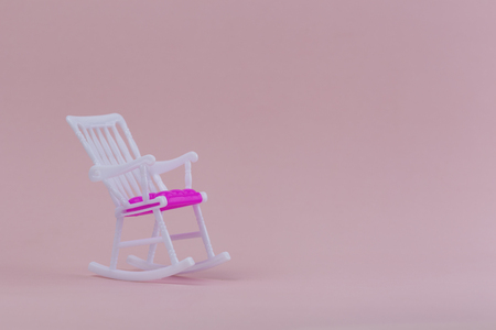 Cool Pink Background With Rocking Chair Concept Of Old Age Ibusinesslaw Wood Chair Design Ideas Ibusinesslaworg