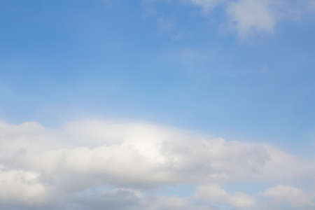Kind of natural blue sky with white clouds