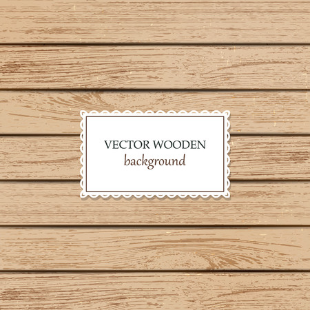 Vector wooden background. Light colored beige wood backdrop. Trendy natural boards. Good for mock-ups 矢量图像