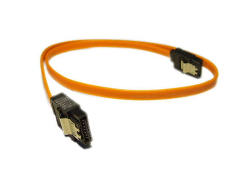 Sata computer cable for hdd disk drive photo
