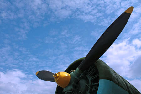 airplane propeller photo