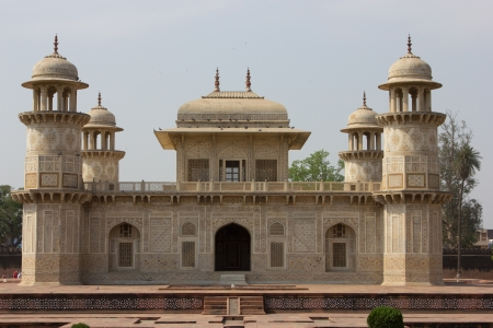 Itmad-Ud-Daulah's tomb in Agra, India. Baby Taj Stock Photo - 21571423