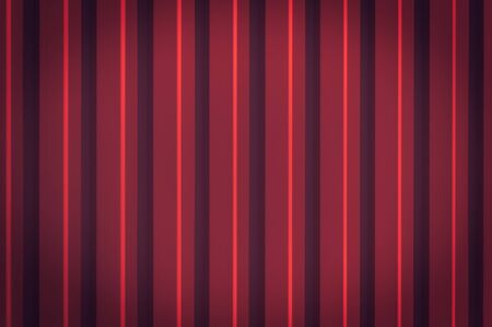 Red corrugated texture of the metal panel. texture of the metal panel. Roofing material and finishing of buildings. Vignetting, copy space.