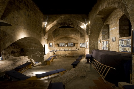 within:  Interior of castle Nehaj