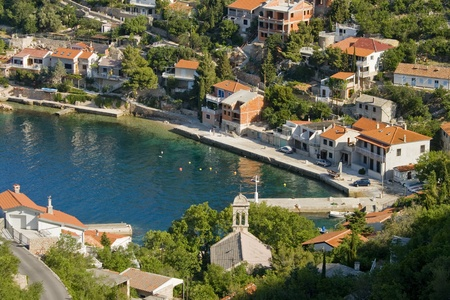 starigrad: Bay Starigrad by Senj Stock Photo