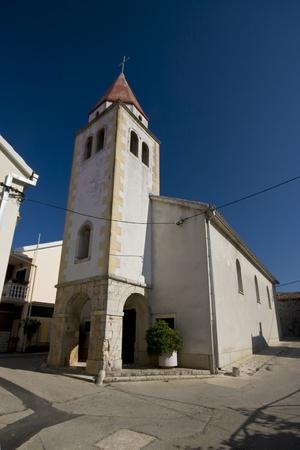 the sacral: Church in Posedarje